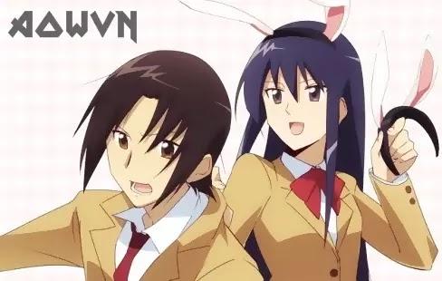 AowVN%2B%25284%2529 - [ Anime 3gp Mp4 ] Seitokai Yakuindomo - SYD SS1 + SS2 + OVA + Movie | Vietsub - Học Đường Hài Bựa
