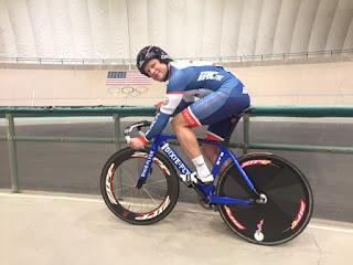 Dennis Pedersen at 7-11 Velodrome, Colorado Springs.