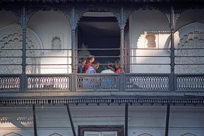 Népal, Katmandou, Hanuman Dhoka, Durbar square, © L. Gigout, 1990