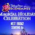 Disney Channel USA estrena la promoción y fotos promocionales del especial 'Descendants Magical Holiday Celebration'
