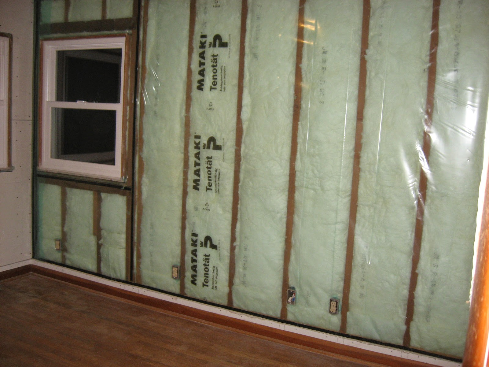 Energy Conservation How To Insulate Exterior Wall Of A