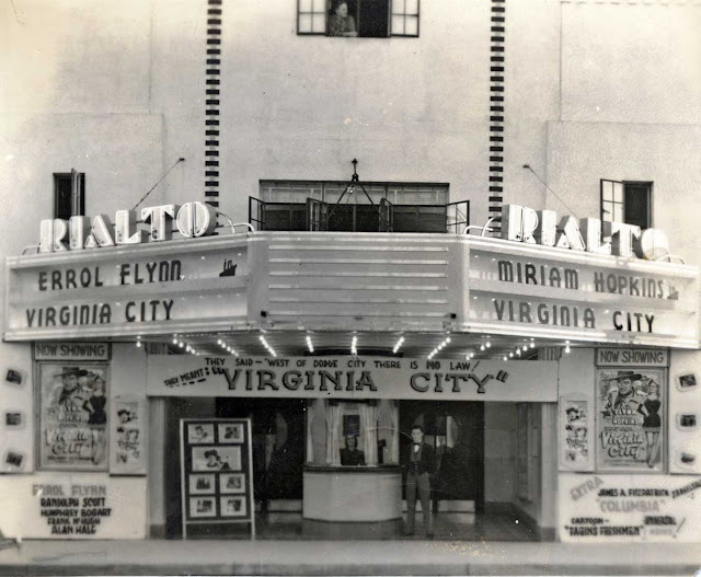 Kerrville's Rialto Theater March 1940