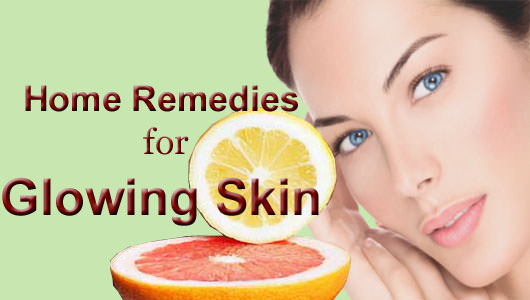 home remedies for skin glow