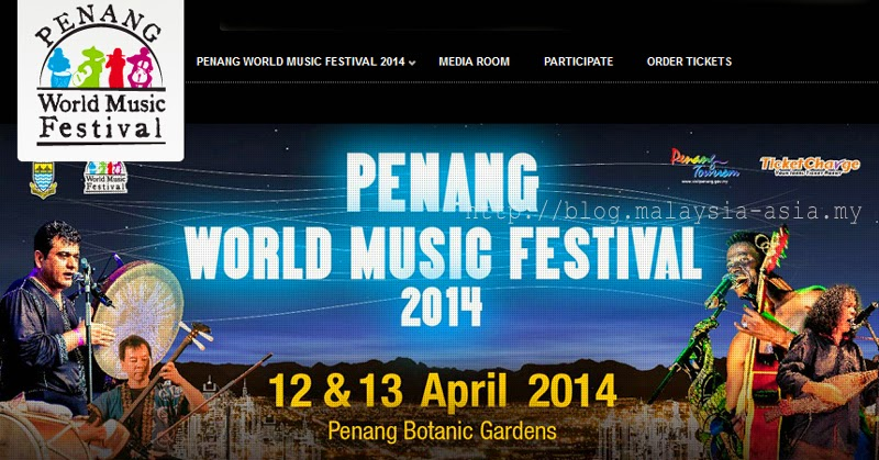 Penang World Music Festival PWMF 2014