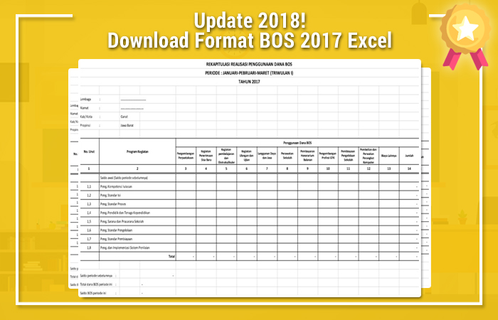 Download Format BOS 2017 Excel