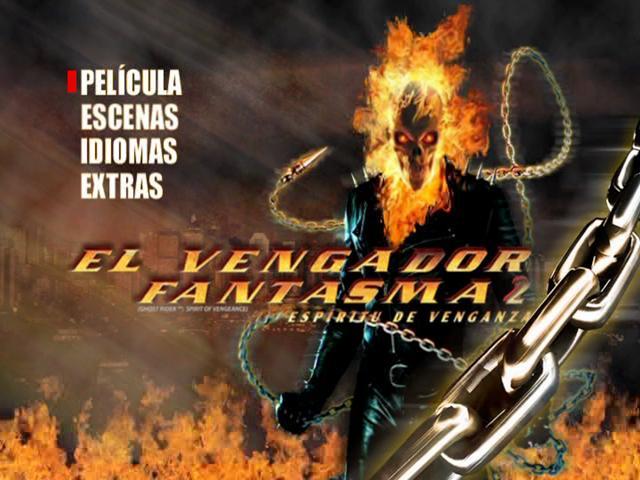 Ghost Rider 2 Spirit of Vengeance DVDR NTSC Español Latino Descargar 2012