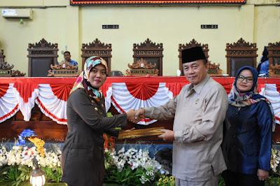 Paripurna DPRD Lampung Timur Sepakati Rancangan KUA dan PPAS Perubahan APBD 2018