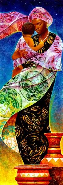 Noite - Keith Mallett e suas pinturas cheias de charme