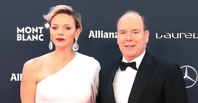 8dffda4ab2 Prince Albert and Princess Charlene attended the Laureus World Sports  Awards in Monaco this year. You may remember the Princess s red Carolina  Herrera gown ...