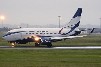 Air Peace to Fly Directly to China As Nigerian Govt Grants License