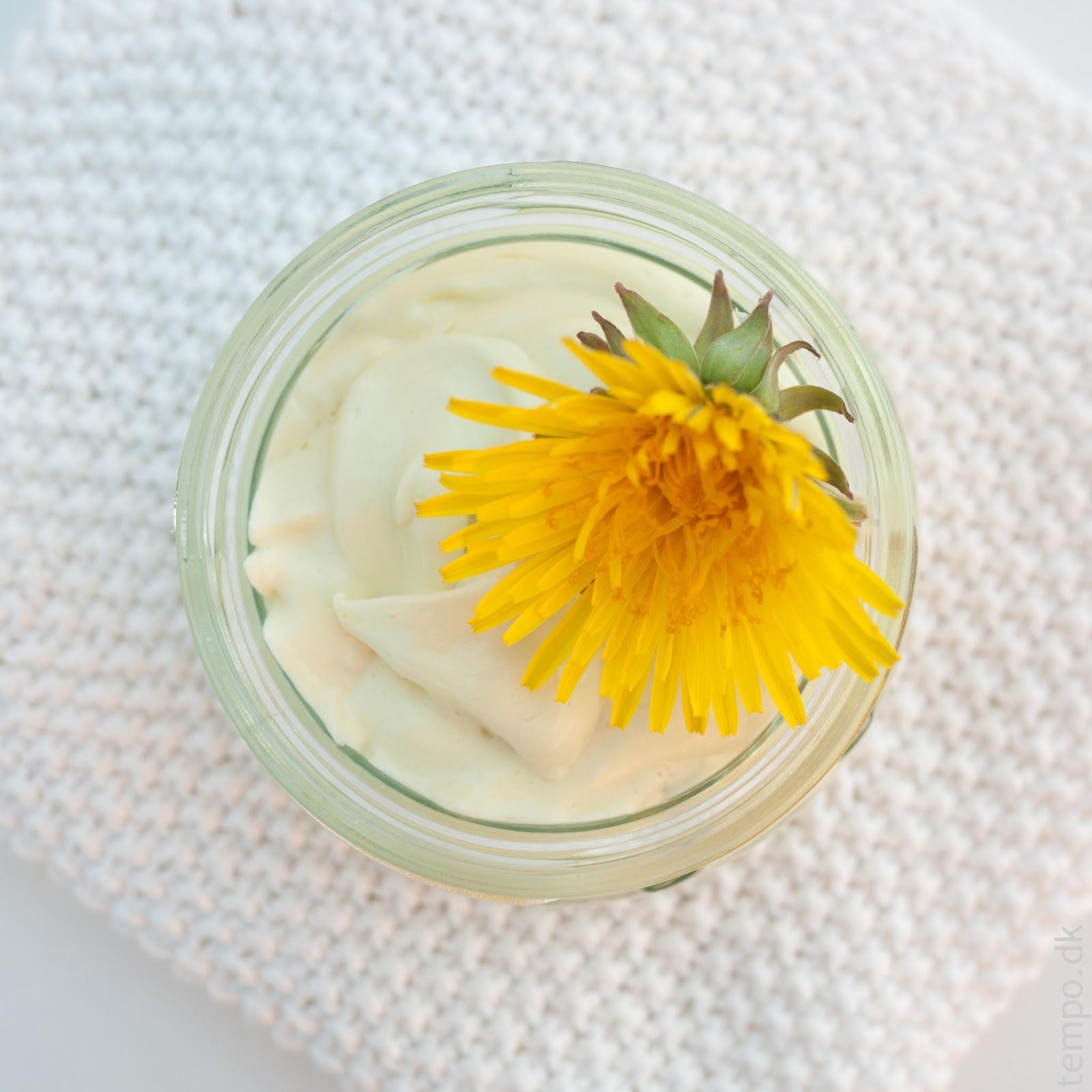 Hudcreme med mælkebøtte DIY
