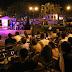 Boris Viande ofreció un concierto al aire libre en el parque de Santa Ana