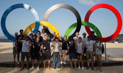L'équipe de France de voile prête pour les Jeux Olympiques de Rio !