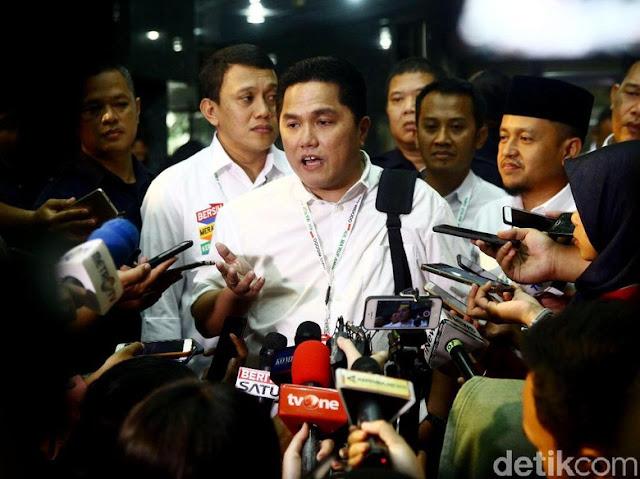 Fadli Zon Sindir Petruk soal 'Raja Jokowi', Erick Thohir Membela