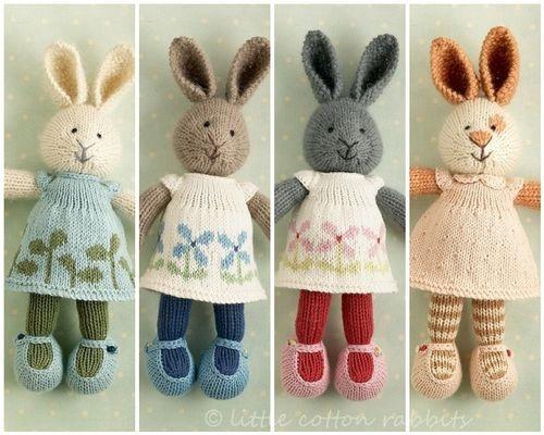 Sugar Nellie: SOS- Little Cotton Rabbits
