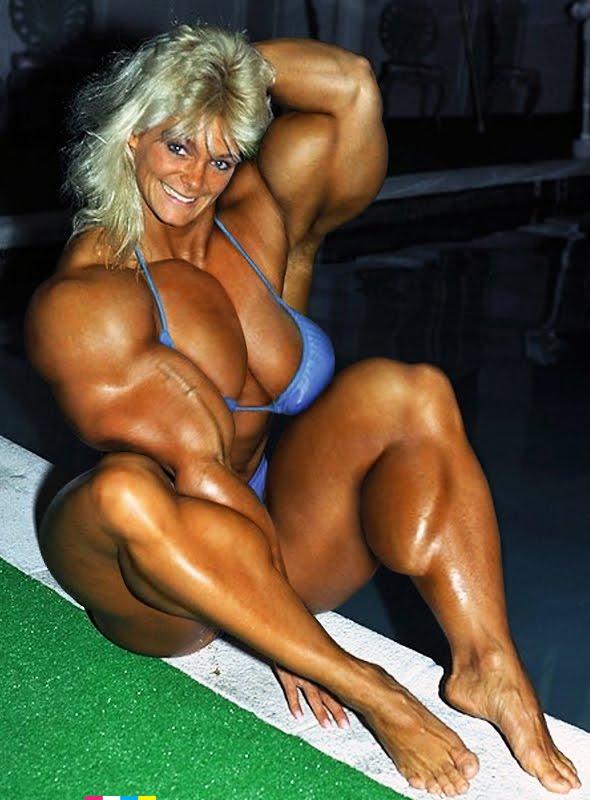 голые бодибилдеры женщины делают это максимально