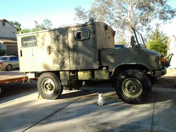 Used rvs 1958 mercedes benz unimog off road rv for sale by for Used mercedes benz rv for sale