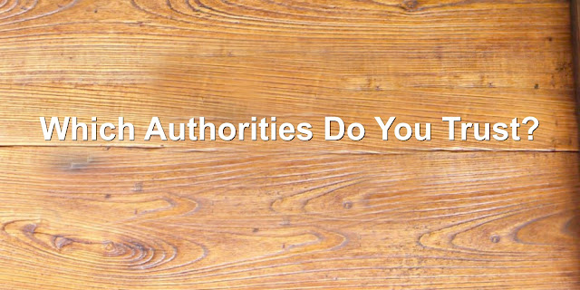 An Authority We Can Trust - God's Word