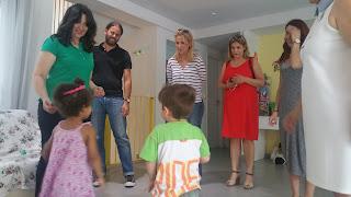Επίσκεψη της Ρένας Δούρου στα παιδικά χωριά SOS