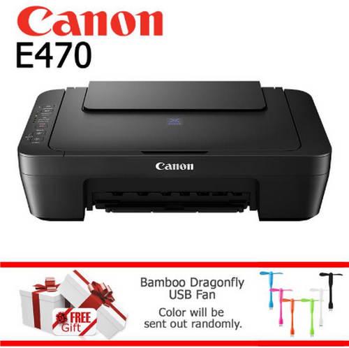 Review Spesifikasi dan Harga Canon Pixma E470 September 2017