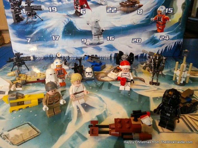 The LEGO Star Wars Advent Calendar Day 20 ship scenery