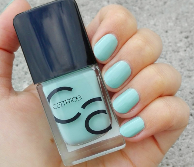 Catrice ICONails Gel Lacquer 14 Mint Map