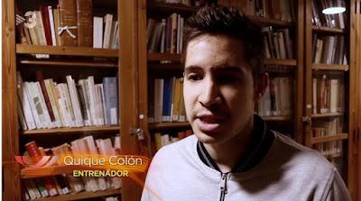 Quique Colón, entrenador de ajedrez