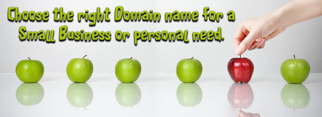 Choose right domain for small business