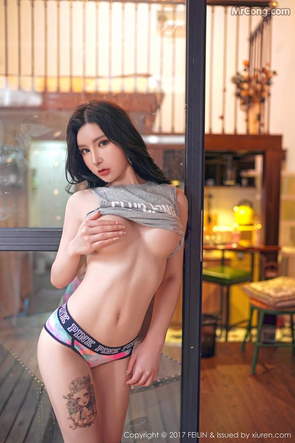 FEILIN Vol.106: Model Zhou Yuxi (周 于 希 dummy) (43 pictures)