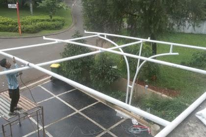 Proses Pembuatan Tenda Membrane