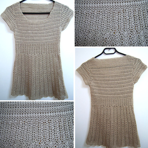 Silk Short-Sleeve Sweater - Free Pattern