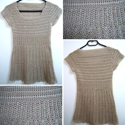 Silk Short-Sleeve Sweater - Free Pattern