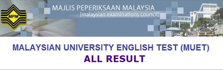Check MUET Result Online