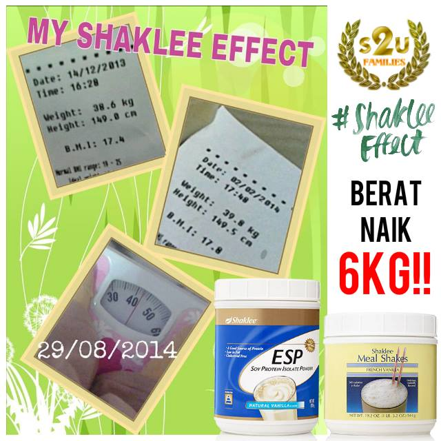 Image result for tambah berat shaklee