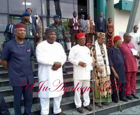 BREAKING: Nnamdi Kanu backs out of South-East governors' peace parley