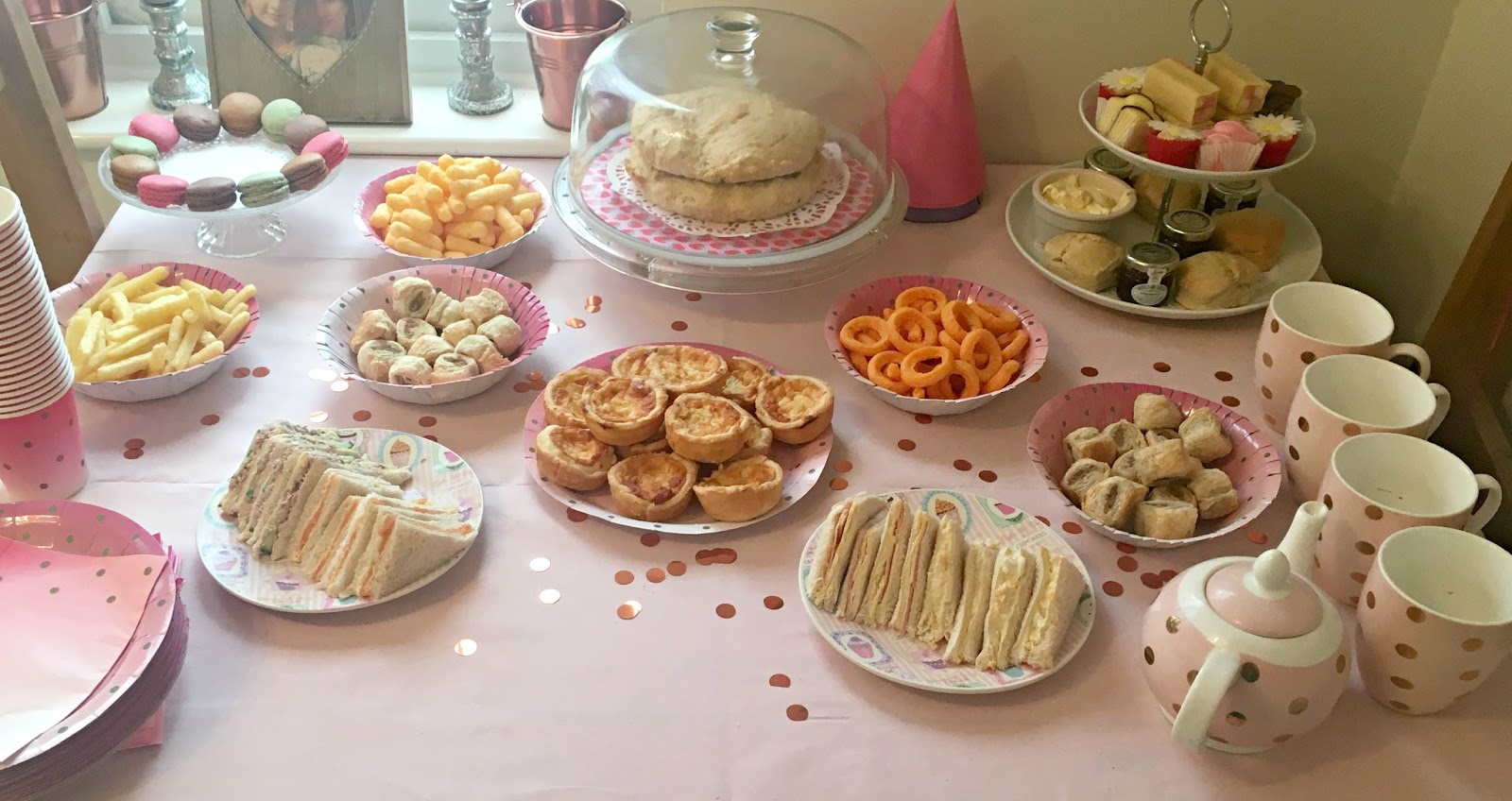 Afternoon Tea Party On A Budget