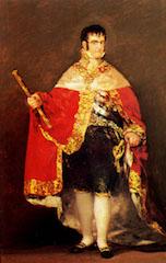 Ferdinand VII, by Goya