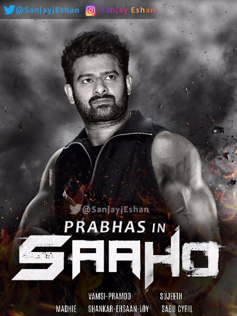 Pabhas New Saaho Look HD Pictures