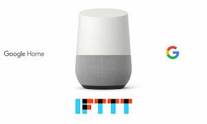Recetas de IFTTT para Google Home