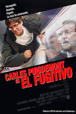 el villano arrinconado, humor, chistes, reir, satira, Puigdemont, Mariano Rajoy, Catalunya, El Fugitivo