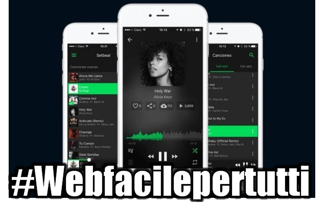 SetBeat | Alternativa Gratis a Spotify disponibile sia per dispositivi iOS che Android