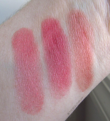 santee mineral blush swatch - the beauty puff