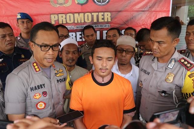 Sopir Penyebab kecelakaan Para Santri Diamankan Polres Metro Tangerang Kota