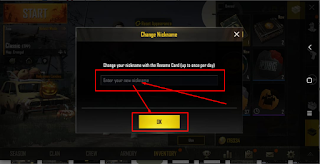 Cara Mengganti Nama Akun atau Nickname PUBG Mobile atau How To Change Nickname in PUBG Mobile Android