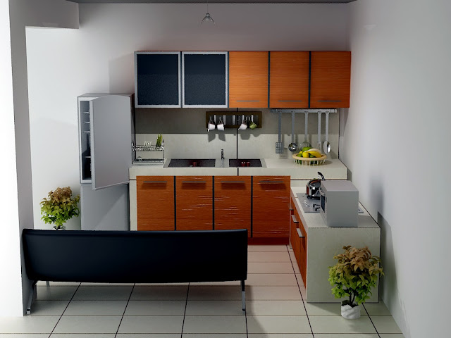 Examples of small kitchen designs