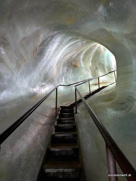 Túnel de Hielo en Eisriesenwelt (Werfen, Austria)