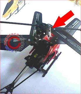 Benda kecil hilang, helikopter remote mini