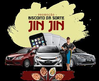 Promoção Biscoito da Sorte Jin Jin -