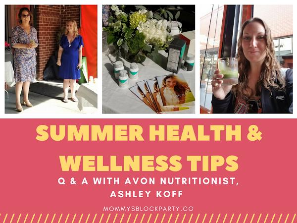 Summer Health & Wellness Tips: Q & A with Avon Nutritionist, Ashley Koff