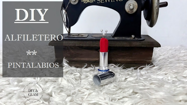 Diy original alfiletero pintalabios